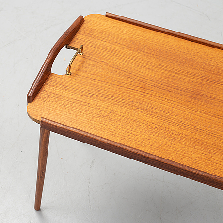 A 1950's 'tixi' tray table by berndt winge for aase möbler, norway.