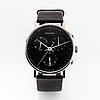 Henning koppel, armbandsur, georg jensen, wristwatch, chronograph, 37 mm.
