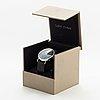 Henning koppel, armbandsur, georg jensen, kronograf, armbandsur, 37 mm.