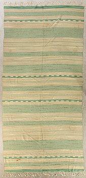 Carpet, Södra Kalmar Läns Hemslöjd, dated 1938, Approx. 470 x 190 cm.