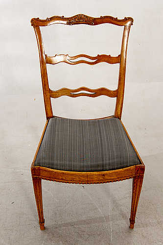 Stolar, 8 st, england omkring 1800.