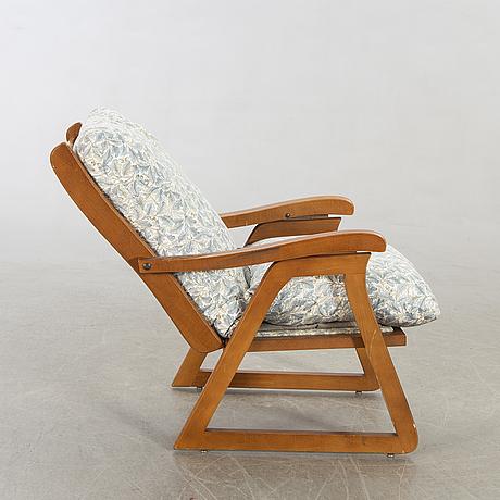 An italian 1960's recliner.
