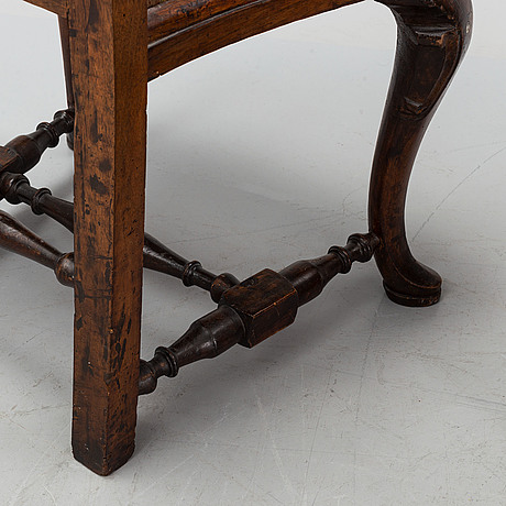 Two 18th century chairs, england / holland.