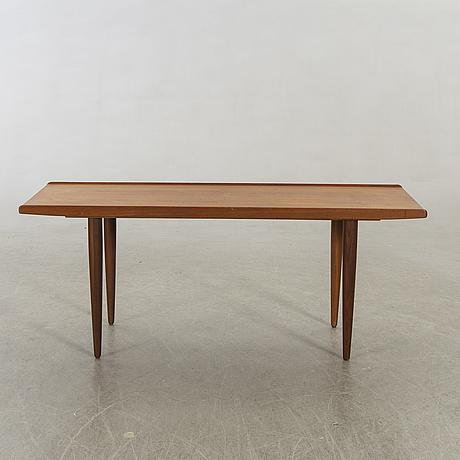 A 1960's teak lounge table.