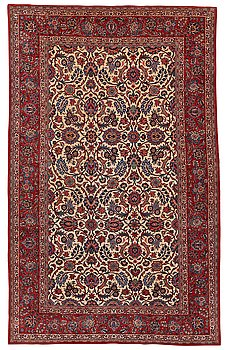 301. Matto, semi-antique, Kashan, ca 291,5 x 183,5 cm.