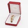 Cartier panthére, rannekello, 22 x 22 mm.