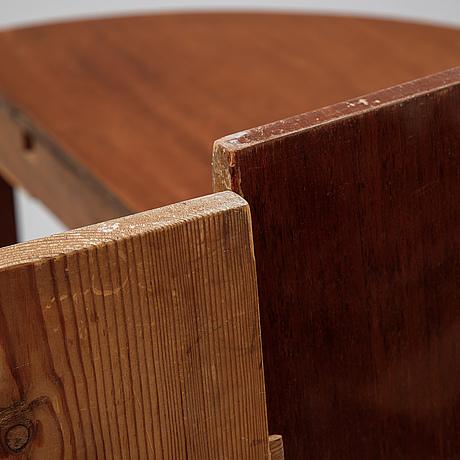 Matsalsbord, sengustaviansk stil, omkring år 1900.