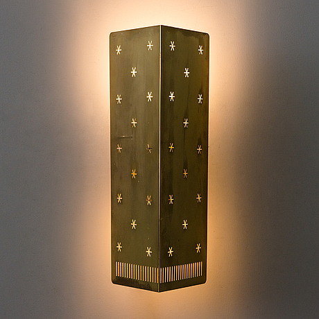 Paavo tynell, a '10330' wall lamp, taito, finland mid-20th century.