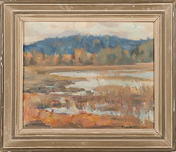Kaapo Wirtanen, oil on canvas, signed and dated 1949.