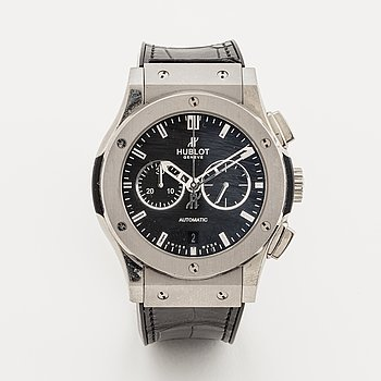 Hublot, Classic Fusion, chronograph, wristwatch, 42 mm.