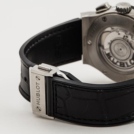 Hublot, classic fusion, chronograph, wristwatch, 42 mm.