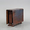 A gate-leg table from the mid 1800's.