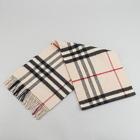 Burberry, a cashmere scarf.