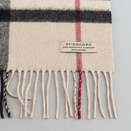 Burberry, halsduk.