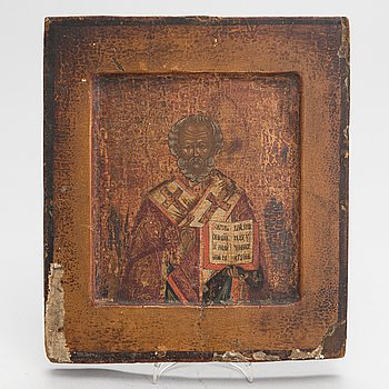 An early 19th century Russian icon.
