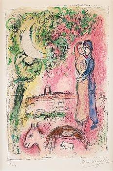 """755. Marc Chagall, """"Aurore á Saint-Paul""""."""