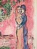 """Marc chagall, """"aurore á saint-paul""""."""