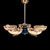 A 1930's chandelier.