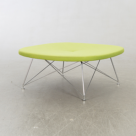"""An 21st century stool """"ej-144"""" by anne-mette bartholin jensen & morten ernst for erik jörgensen, denmark."""