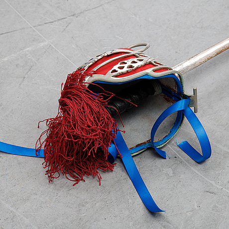 A regulation basket hilted broadsword for highland officers, with scabbard, late 20th century.