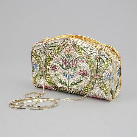 Judith leiber, a vintage evening clutch from saks fifth avenue.