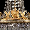 A turn of 20th century chandelier.