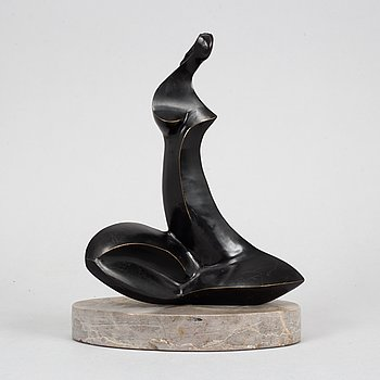 Stan Wys, a signed bronze sculpture, dated 2001, numbered 10/12.
