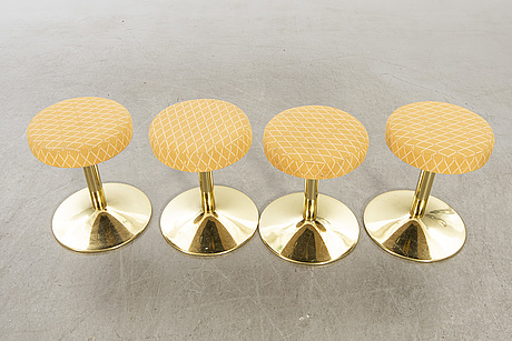 A set of four stools 1980/90's.
