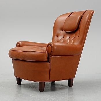 Carl Malmsten, a 'Jättepaddan' easy chair, O.H. Sjögren, Sweden.