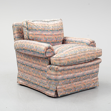 An easy chair, late 20th century.