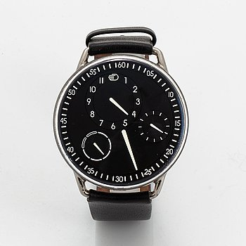 Ressence, Type 1, wristwatch, 42 mm.