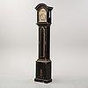A swedish longcase clock, second half of the 18th century.