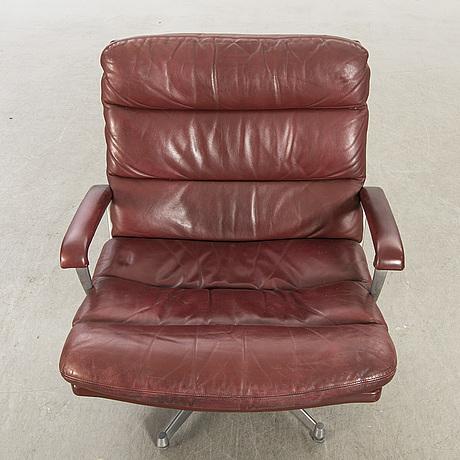 "Andre vandenbeuck, easy chair ""gamma"" for strässle, 1970's."