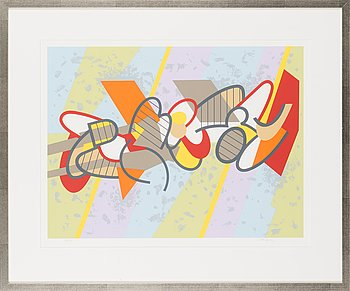 Lauri Ahlgrén, serigraph, signed and numbered 51/75.