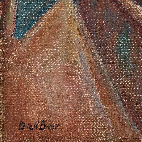 "Dick beer, ""kubistiskt landskap""."