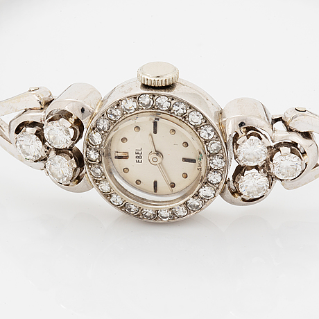 Ebel ladies watch with diamonds.