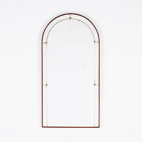 A swedish 1950's mirror from glas & trä, hovmantorp.