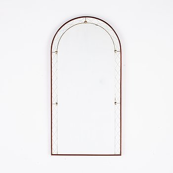 A Swedish 1950's mirror from Glas & Trä, Hovmantorp.