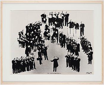 Renato Ranaldi, photo collage, signed and dated 1971.