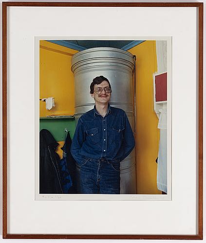 Pekka turunen, photograph, 1985, sigend 2725.