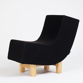 """Björn Dahlström, a """"BD1"""" easy chair for CBI Sweden 1990's."""