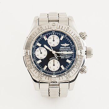 Breitling, Chrono SuperOcean (500M/1650FT), Chronometre, chronograph, wristwatch, 42 mm.