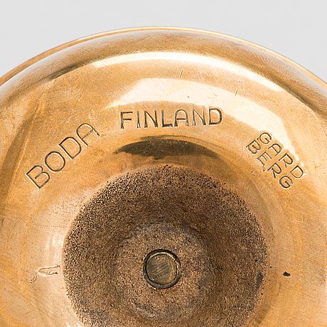 Bertel gardberg, a candlestick for boda finland.