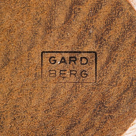 Bertel gardberg, ströare, 5 st, finnmade gardberg, norrmark slöjd.