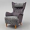 Dux, a swedish modern easy chair, 1940's/50's.