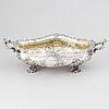 Jardiniere, silver 800/1000, tyskland efter 1888. rokoko-stil.