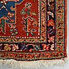A runner, semi-antique north west persian, ca 362 x 105 cm.
