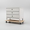 A painted gustavian chest of drawers, circa 1800.