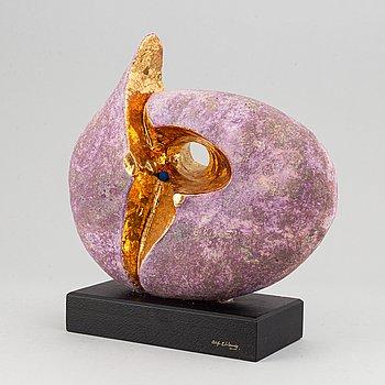 Alf Ekberg, a stoneware sculpture, signed.