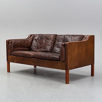 Børge Mogensen, a model 2212 sofa, Fredericia Stolefabrik, Denmark.